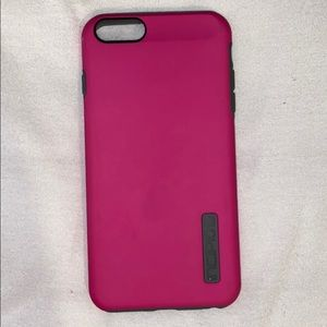 Pink protective phone case